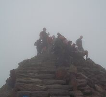 Snowdon Summit; 3,560 feet by wiggyofipswich