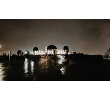 griffith ob at night Photographic Print