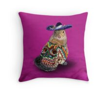 Day Of The Dead Squirrel Throw Pillow