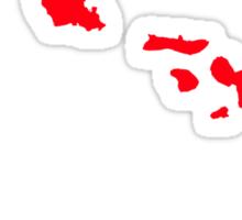 chroma hawaii Sticker