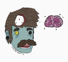 mr zombie brains by Missdatapig