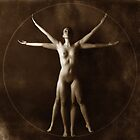 Vitruvian Girl No.2.  by fotowagner