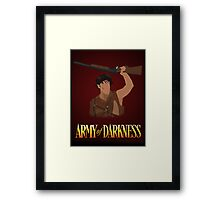 Army of Darkness - This... is my Boomstick! vector  Framed Print