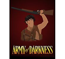 Army of Darkness - This... is my Boomstick! vector  Photographic Print