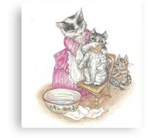 Tom Kitten Canvas Print