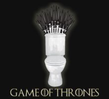 Game of thrones toilet by bluestubble