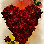 Blooming Heart by DVerissimo