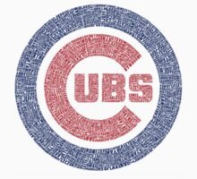Chicago Cubs Typography Logo by Joe Hammel
