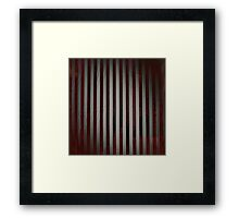 She tried to do yoga while listening to Red House. Framed Print
