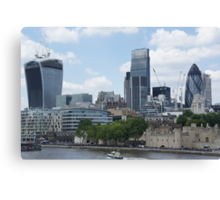 Walkie-Talkie building - 20 Fenchurch Street Canvas Print
