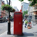 Iconic - Red Telephone Box London by santoshputhran