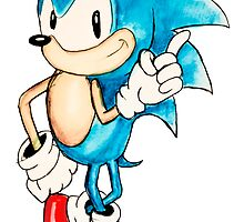 Sonic the Hedgehog by BryonyMay