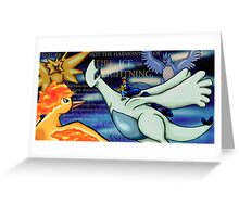 Disturb Not (Pokemon 2000) Greeting Card
