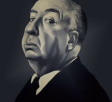 Presenting Alfred Hitchcock by Morgan Birch