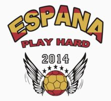 World Cup 2014:Team  Espana by seazerka