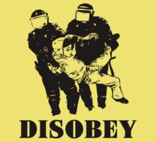 Disobey Police by mamisarah