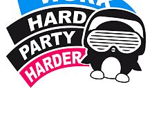 Work Hard Party Harder Logo Design by Style-O-Mat