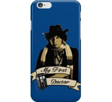 My first Doctor (Who) Fourth 4th Tom Baker iPhone Case/Skin