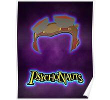 Psychonauts - Minimalist vector poster Poster