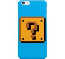 Super Mario Bros. Question Mark Block iPhone Case/Skin