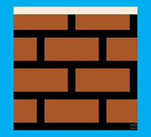 Super Mario Bros. Brick Block by rK9nation