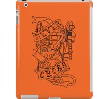 Never Cross (b) iPad Case/Skin