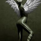 Dance series Muse with wings by Martin Dingli