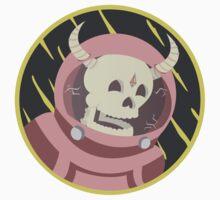 Astronaut Skull by Essssteban
