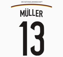 Thomas MÜLLER World Cup 2014 by refreshdesign