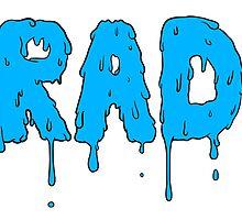 Totally Rad - Blue by heyrebekah