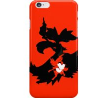 Fennekin - Braixen - Delphox ( Evolution Line ) iPhone Case/Skin