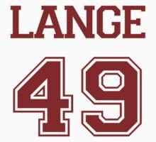 Jessica Lange Varsity by namegame
