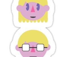 "Say ""Fuzzy Pickles"" Sticker"