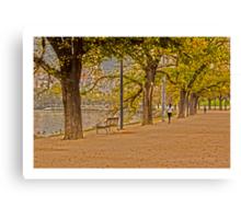 Autumn, Melbourne City Canvas Print