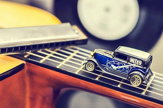 Blues Car by MMPhotographyUK