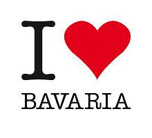 I ♥ BAVARIA by eyesblau