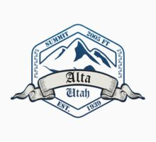 Alta Ski Resort Utah Kids Clothes