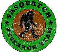 Distressed Sasquatch Research Team by kwg2200