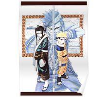 Naruto, Haku, and Zabuza Poster