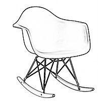 Eames Rocking Chair by hourglasssusie