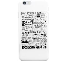 ♫ Disconnected ♫ | phone case iPhone Case/Skin