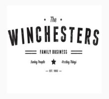 The Winchesters Vintage Logo 1 by hahahahaleigh
