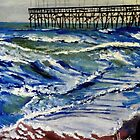 Off Season at North Topsail by Jim Phillips