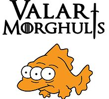 Valar Morghulis Three Eyed Fish by zamora