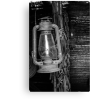 Oil Lamp Canvas Print