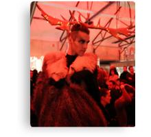 Dark Mofo Winter Feist 2014 Reindeer man  Canvas Print
