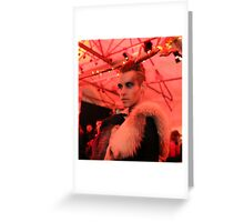 Dark Mofo Winter Feist 2014 Reindeer man 6 Greeting Card