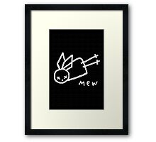 Mew Angel  Framed Print