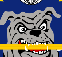 116th Aircraft Maintenance Squadron - Dagger Dawgs Leading The Pack Sticker