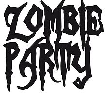 Zombie party drinking parties alcohol drinking by Style-O-Mat